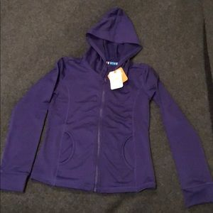 Gymgo Purple Zip-Up Hoodie